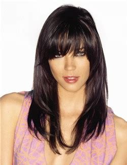 long hair high forehead over 50 coffee break corte de cabello con fleco