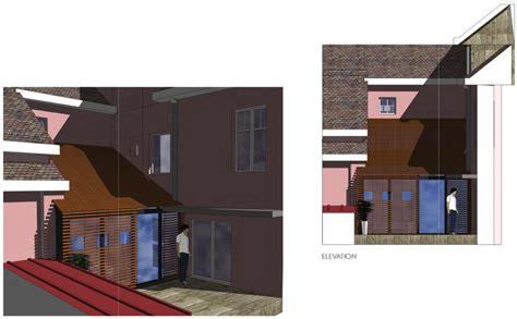 extension chambre extension d une chambre sur cour int 233 rieure