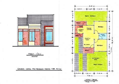 type rumah 45 ideal untuk keluarga kecil model rumah minimalis