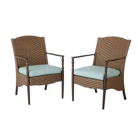 outdoor armchair home decorators collection bolingbrook stationary wicker