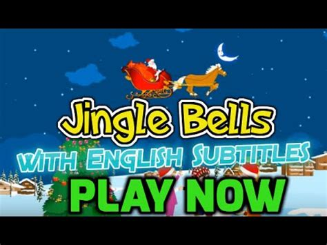 jingle bells  english subtitles nursery rhymes