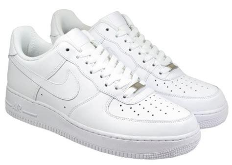 nike mens trainers air 1 white landau store