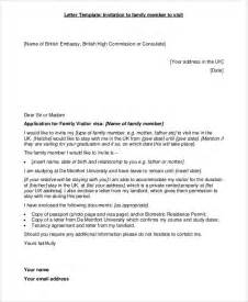 invitation letter sle for uk family visitor visa 35 invitation letters