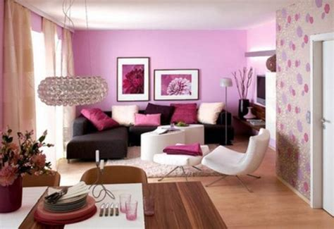 my pink life family room wall color modern interior decorating with pink color combinations