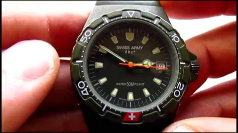 Swiss Army Dhc A swiss army dhc wrist