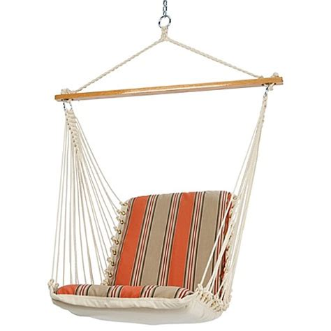 pawleys island swing pawleys island outdoor single cushioned swing bed bath