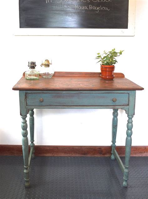 Side Table For Hallway Painted Side Table Hallway Table Entryway Table Milk Paint
