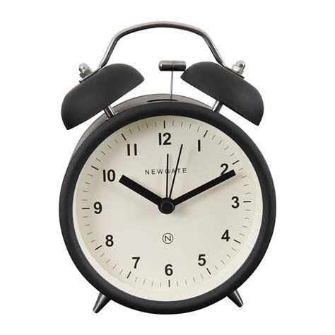 Buy Alarm Clock by Buy Newgate Clocks Bell Alarm Clock Matt Black Amara