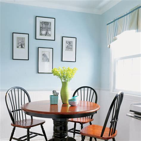 Light Blue Kitchen Walls | crown molding glory a charming kitchen rev for 1 527