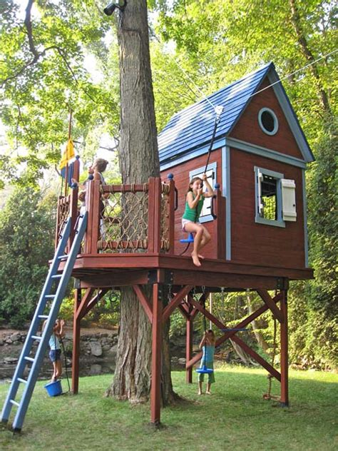 kids tree house barbara butler extraordinary play structures for kids bluebird treehouse bluebird