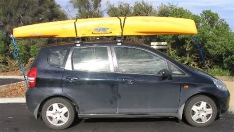 Tying A Kayak To Roof Rack by Australian Kayak Fishing Forum View Topic Tying Kayak On Roof Racks