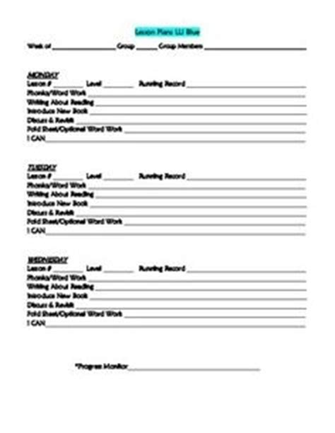 lli lesson plan template lli gold lesson plan template lesson plan templates