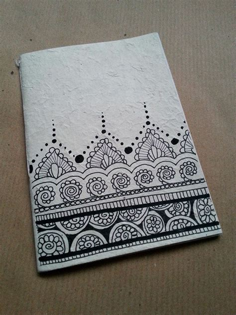 notebook cover design handmade notebooks handmade in rice paper the illustrations on the