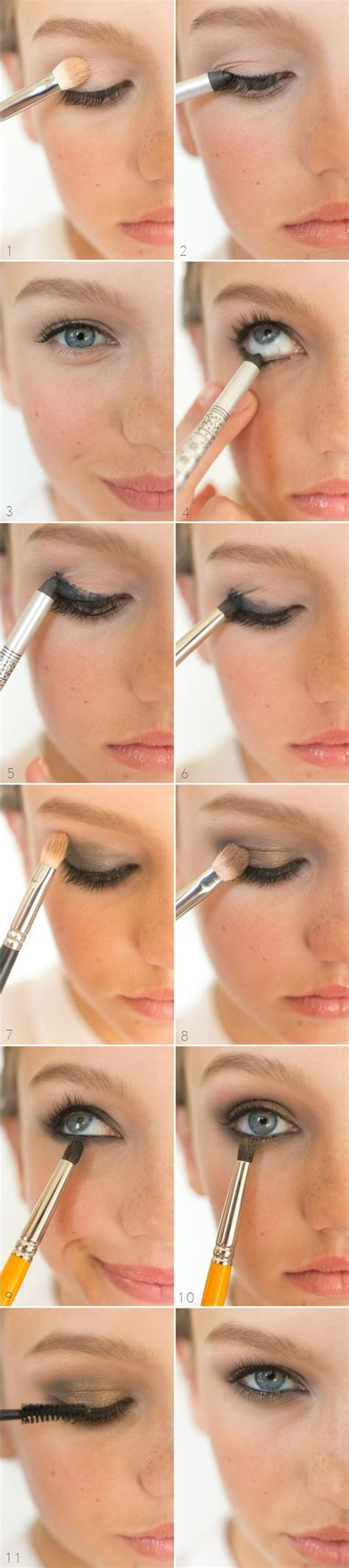 natural night makeup tutorial get ready for date night with these 20 smokey eye tutorials