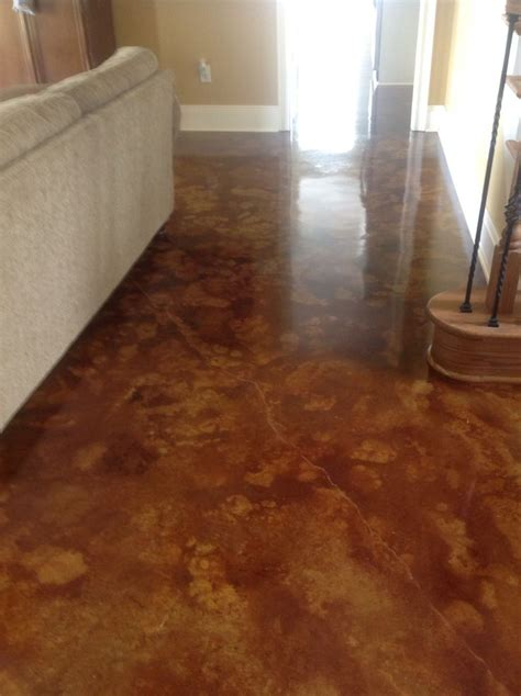 Have an ugly or boring sidewalk, patio or interior slab