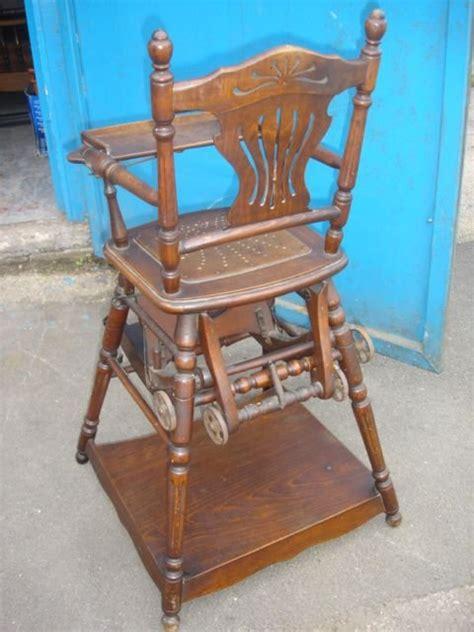 antique childs rocking chair uk antique childs metamorphic highchair rocking chair