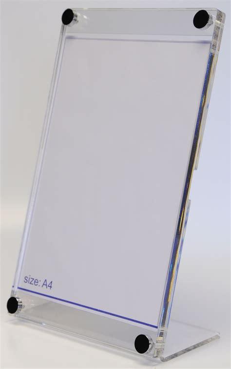 Acrylic Stand acrylic menu holders barconwood