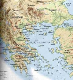 Map Of Classical Greece by Sparta Map Ancient Greece Images