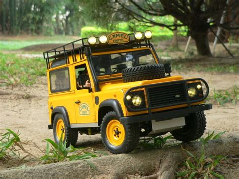 land rover tamiya land rover defender on tamiya cc01 cc 01 chassis