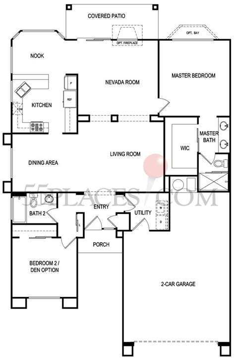 sun city summerlin floor plans cortez floorplan 1569 sq ft sun city summerlin