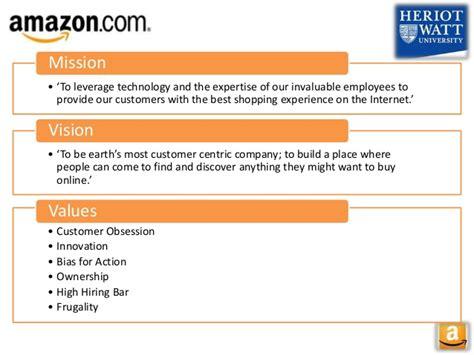 amazon vision amazon business model