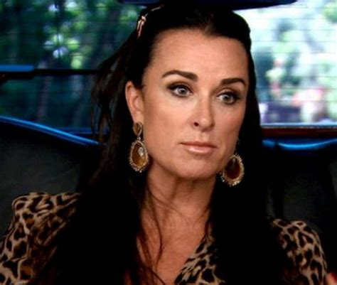does kyle richards have hair extensions brandi glanville kyle richards calls yolanda hadid condescending and self