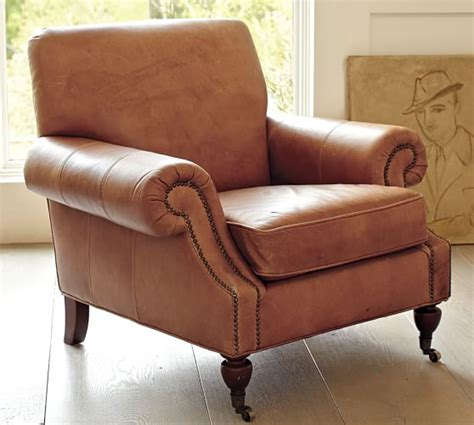 pottery barn leather armchair pottery barn warehouse clearance sale 60 off leather