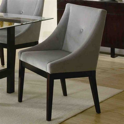 leather dining room chairs  arms decor ideas