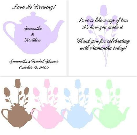quotes for bridal shower tea quotesgram - Sayings Bridal Shower Favors 2