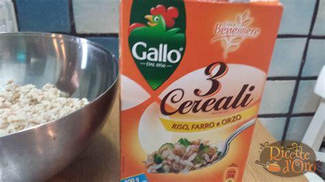 Come Cucinare Riso Farro E Orzo by Insalata Di Riso Farro E Orzo Ricette D Oro
