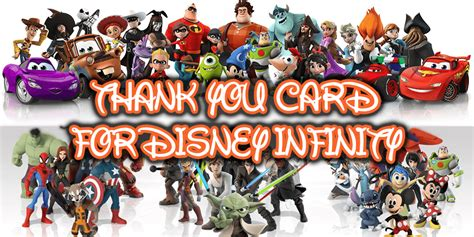 how much money is disney infinity help create one last quot thank you disney infinity quot card to