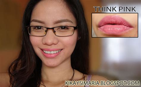 And Megalast Lipstick Think Pink 1 kikaysimaria n mega last lip color swatches