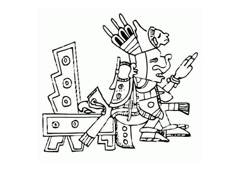 Free Coloring Pages Of Aztec Inca Maya Inca Coloring Pages