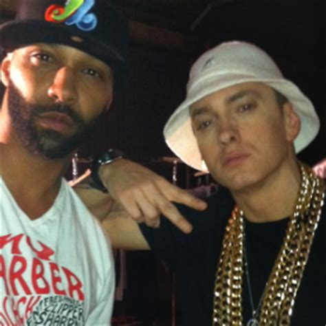 eminem joe budden sohh com joe budden bows to rap god predicts