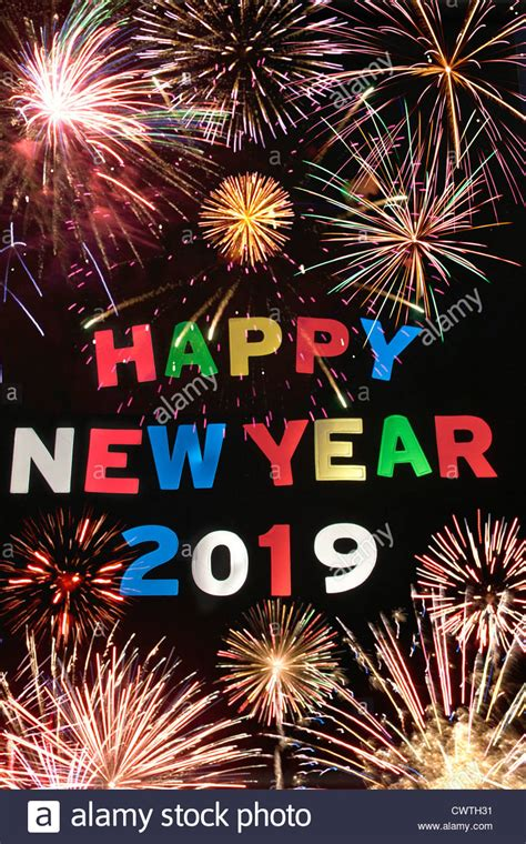 new year in 2019 happy new year 2019 stock photo 50327397 alamy