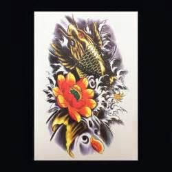 koi karper tattoo voorbeelden xl tattoos kleur faketattoo nl