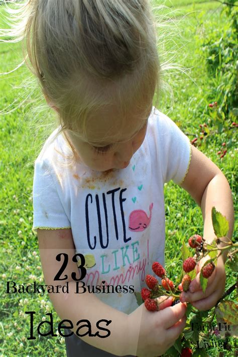 backyard business 23 backyard business ideas farm fit living