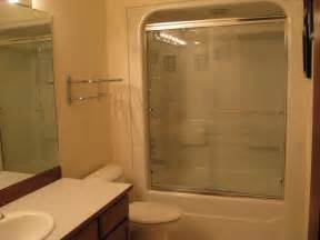 one acrylic tub shower unit bathroom seattle