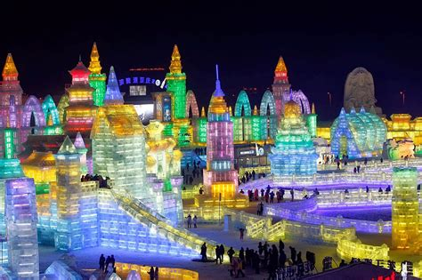 harbin ice festival 2014 harbin international ice and snow festival in china