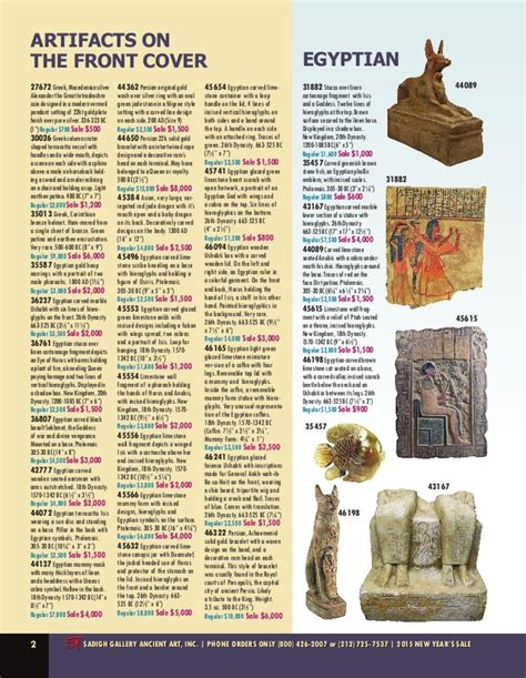 new year artifacts sadigh gallery 2015 new year artifacts sales flyer