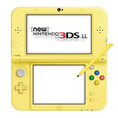console 3ds xl new nintendo 3ds ll xl console pikachu yellow