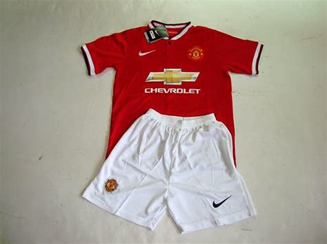 Baju Bola Anak Murah baju bola anak manchester united 2015 home jual jersey manchester united 2014 2015