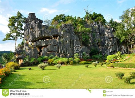 Garden Of On A Mountain Garden Of Mountain Stock Photo Image 50113750