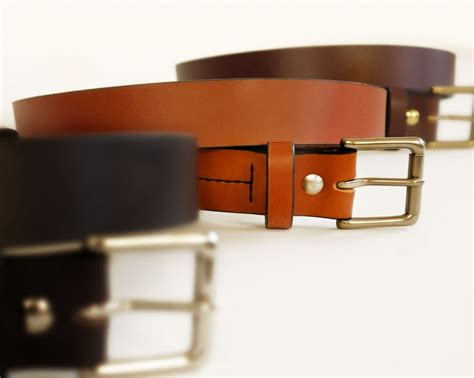 Handmade Mens Belts - mens light brown leather belt handmade leather belt