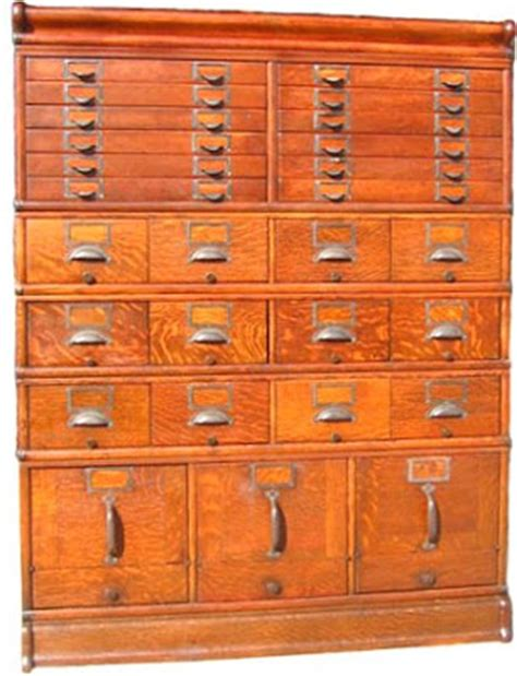 sweetwater cottage library card file cabinet