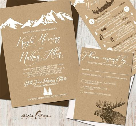 River Theme Wedding Invitations by River Themed Wedding Invitations