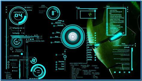 Ironman House jarvis desktop screensaver download free