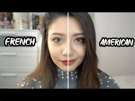 makeup tutorial in french american vs french makeup tutorial youtube