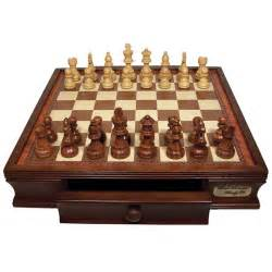 wooden chess set wooden chess set with drawers by dal rossi italy