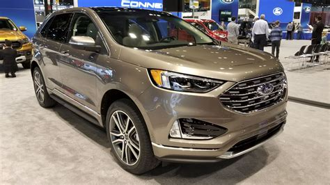 ford edge top speed the 2019 ford edge gets gussied up titanium elite trim in